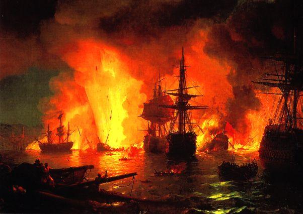 çeşme deniz savaşı ile ilgili görsel sonucu