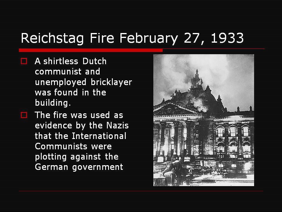reichstag yangını ile ilgili görsel sonucu